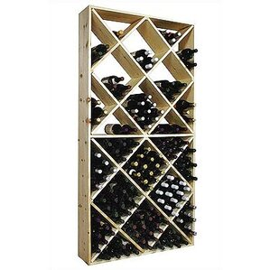 Country Pine 208 Bottle Floor Wine Rack by Wine Cellar Innovations