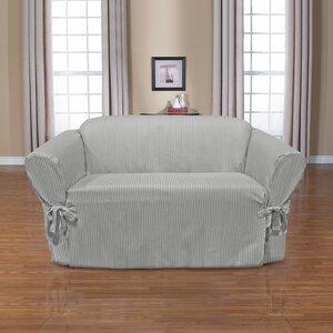Monroe Box Cushion Loveseat Slipcover