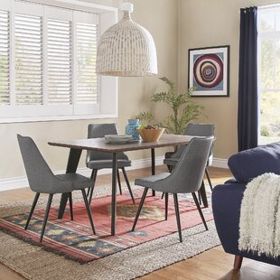 Caskey Mid-Century 5 Piece Dining Set