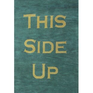 Top Chamblee Green Rug By Winston Porter