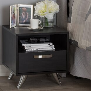 Mercier 1 Drawer Nightstand