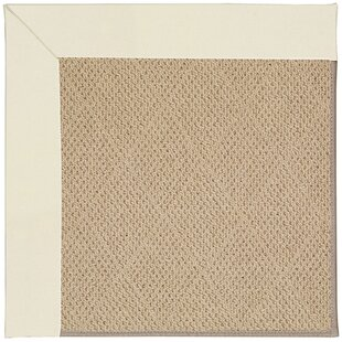 Lisle Machine Tufted Alabaster/Beige Indoor/Outdoor Area Rug