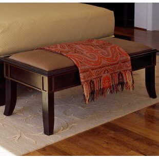 Spinella Fabric Bench by Canora Grey