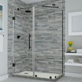 Bromley 47 x 72 Rectangle Hinged Shower Enclosure by Aston