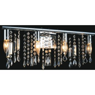 Look for Janine 4-Light Vanity Light By CWI Lighting