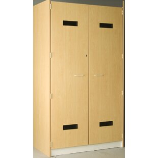 Music 1 Tier 2 Wide Robe Storage Locker by Stevens ID Systems