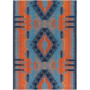 Blue Indoor/Outdoor Area Rug