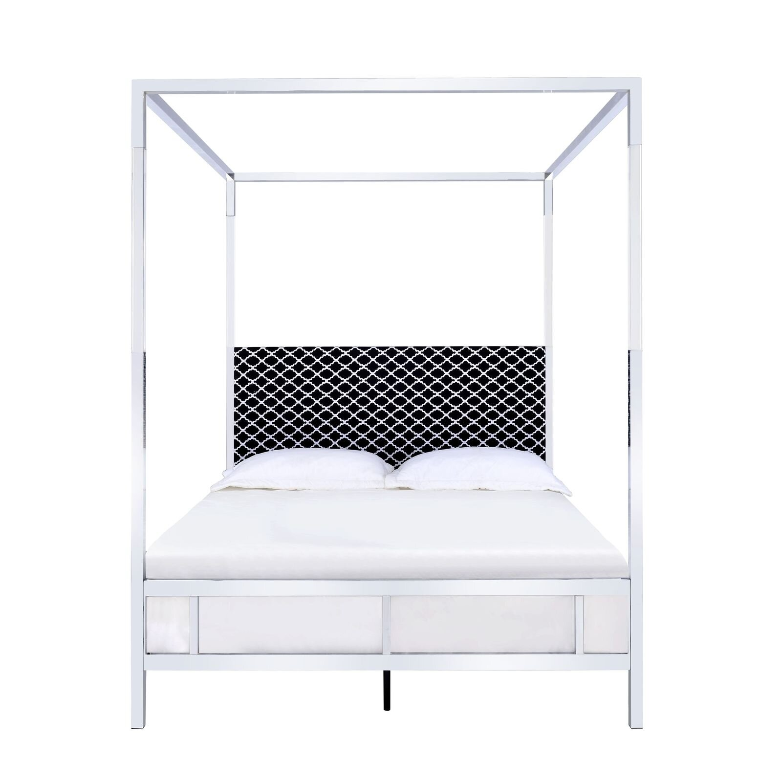 Glam Upholstered Canopy Beds You Ll Love In 2021 Wayfair