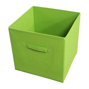 Savings Collapsible Fabric Storage Bin (Set of 4) By Rebrilliant