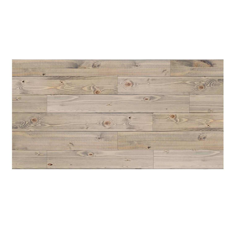 Creativeentryways 24 X 48 Solid Wood Wall Paneling In Weathered Gray Wayfair