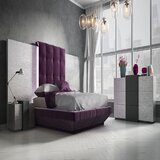 Jerri Queen Platform 2 Piece Bedroom Set by Everly Quinn