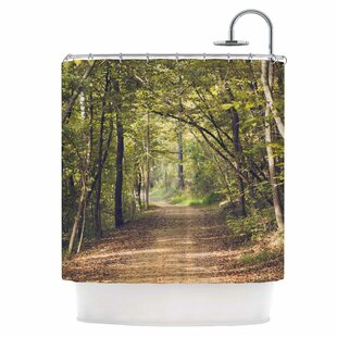 Forest Light Single Shower Curtain