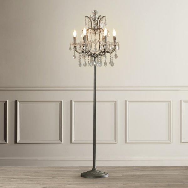 House Of Hampton Ulverston 65 Led Candelabra Floor Lamp Reviews Wayfair