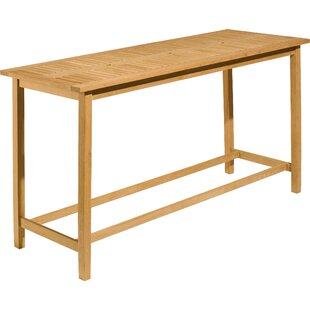 Hopson Long Bar Table by Alcott Hill Top Reviews