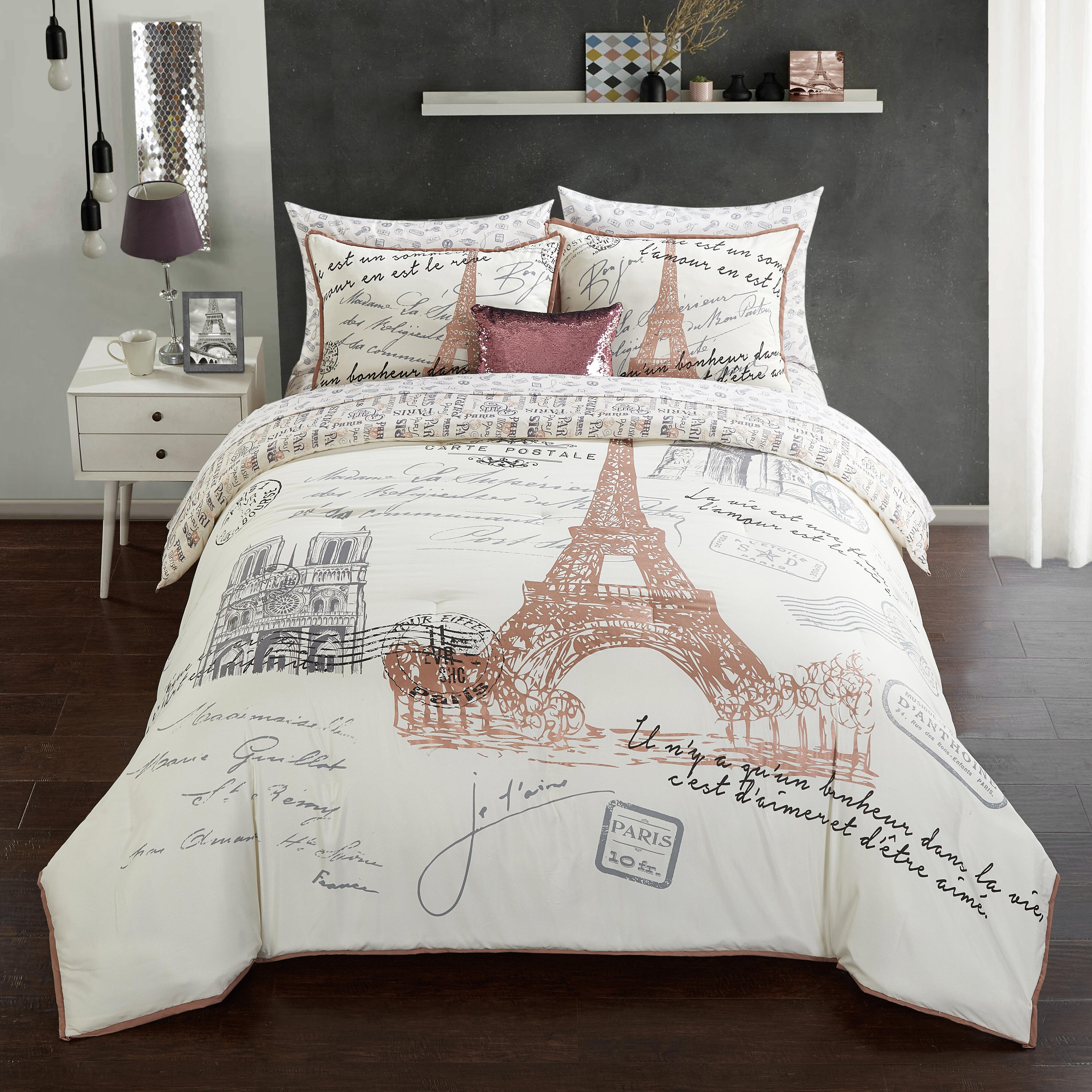 Rosdorf Park Whitchurch Reversible Comforter Set Reviews Wayfair