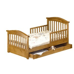 Joel Pine Toddler Bed with Storage by Sorelle