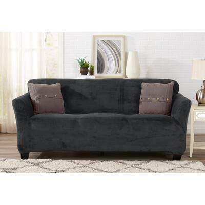 Sure Fit Scroll Classic Box Cushion Sofa Slipcover Reviews Wayfair