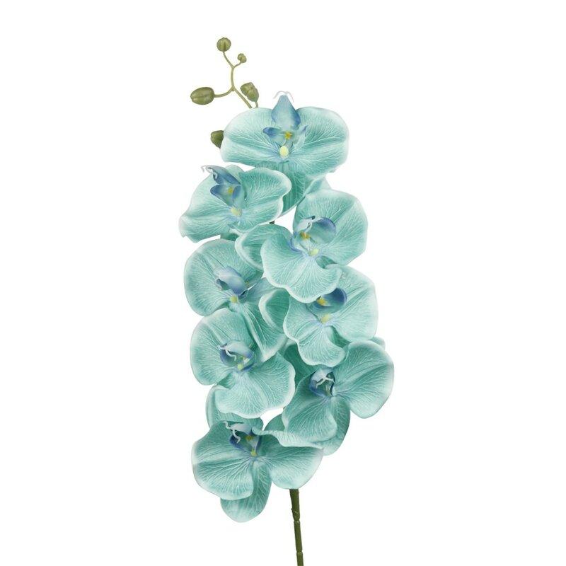 Artificial Blue Orchid,Faux Silk Flowers Choose 1,2,3,stems