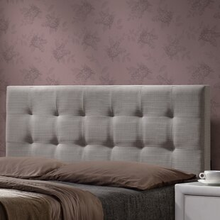 Best Reviews Glenside Upholstered Panel Headboard by Darby Home Co