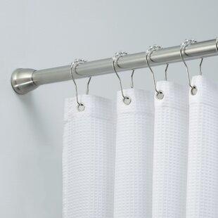 Larosa 75 Adjustable Straight Tension Shower Curtain Rod
