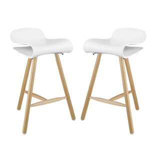 Clip 27 Bar Stool (Set of 2) Modway