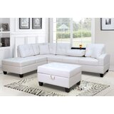 Moison 110 Left Hand Facing Sectional by Ebern Designs