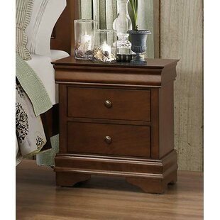 Kermit 2 Drawer Nightstand by Alcott Hill