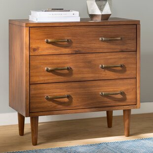 Cope 3 Drawer Chest Bungalow Rose