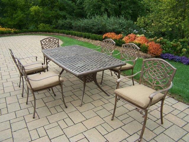 Astoria Grand Mcgrady 7 Piece Dining Set With Cushions Wayfair