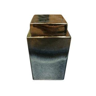 Sophisticated Ceramic Covered Storage Jar