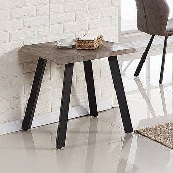 Mercury Row Edgar Sled End Table Set With Storage Reviews Wayfair