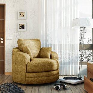 Hunziker Swivel Barrel Chair