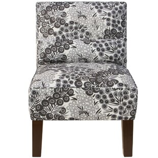 Fransen Linen Upholstered Side Chair by Bloomsbury Market