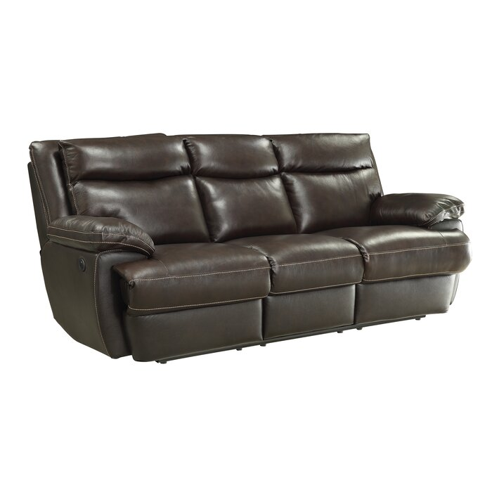 Brilliant Hughes Leather Reclining Sofa Ocoug Best Dining Table And Chair Ideas Images Ocougorg