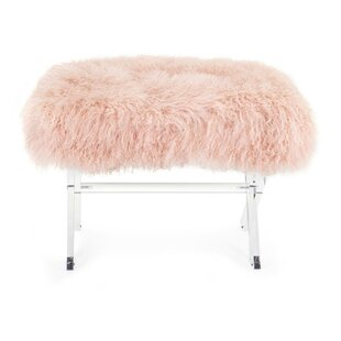 Vale Plastic Upholstered Bench by Mercer41