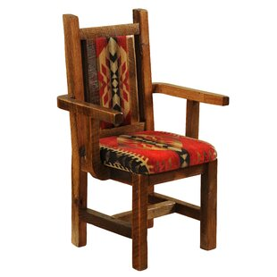 Barnwood Arm Chair Fireside Lodge