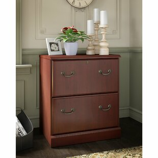 Bennington 2-Drawer Lateral Filing Cabinet by Kathy Ireland Office Bush Herry Up