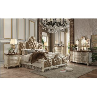 Cowart Upholstered Panel Bed by Fleur De Lis Living