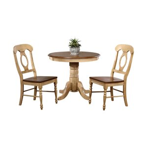 Huerfano Valley 3 Piece Dining Set by Loo..