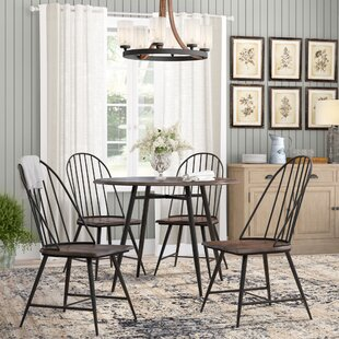 Hughley 5 Piece Dining Set Laurel Foundry Modern Farmhouse