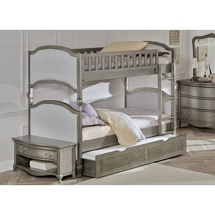 Savings Platte Twin Over Twin Bunk Bed with Trundle By Greyleigh