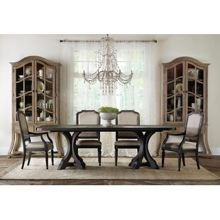 Corsica 5 Piece Extendable Dining Set Hooker Furniture