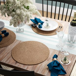 Round Table Placemats.Round Placemats You Ll Love In 2019 Wayfair