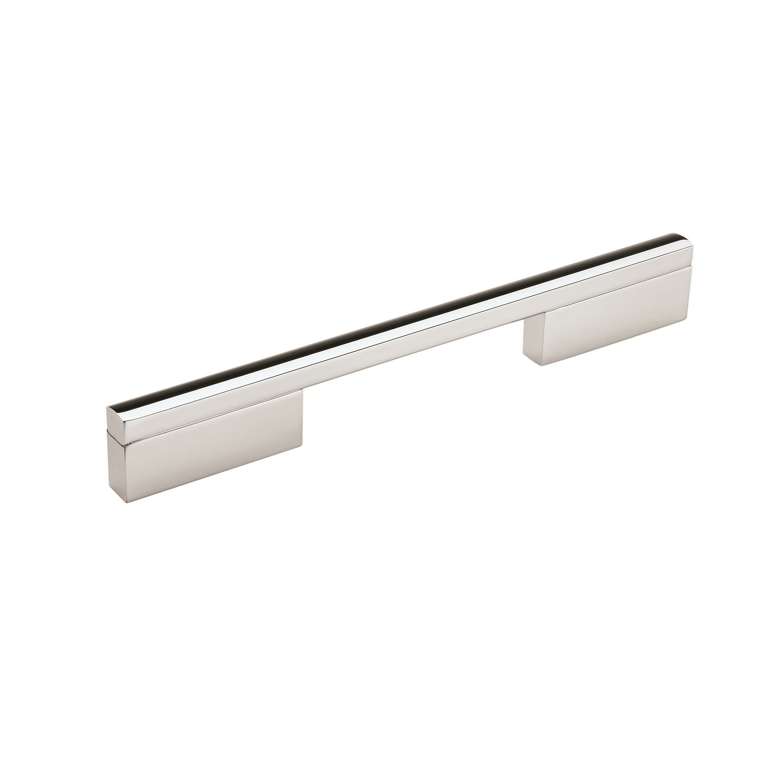 Amerock Separa 6 5 16 In 160 Mm Centre To Centre Black Brushed Nickel Cabinet Pull Wayfair Ca