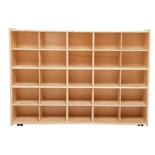 Big Save Contender 25 Compartment Cubby with Casters ByWood Designs