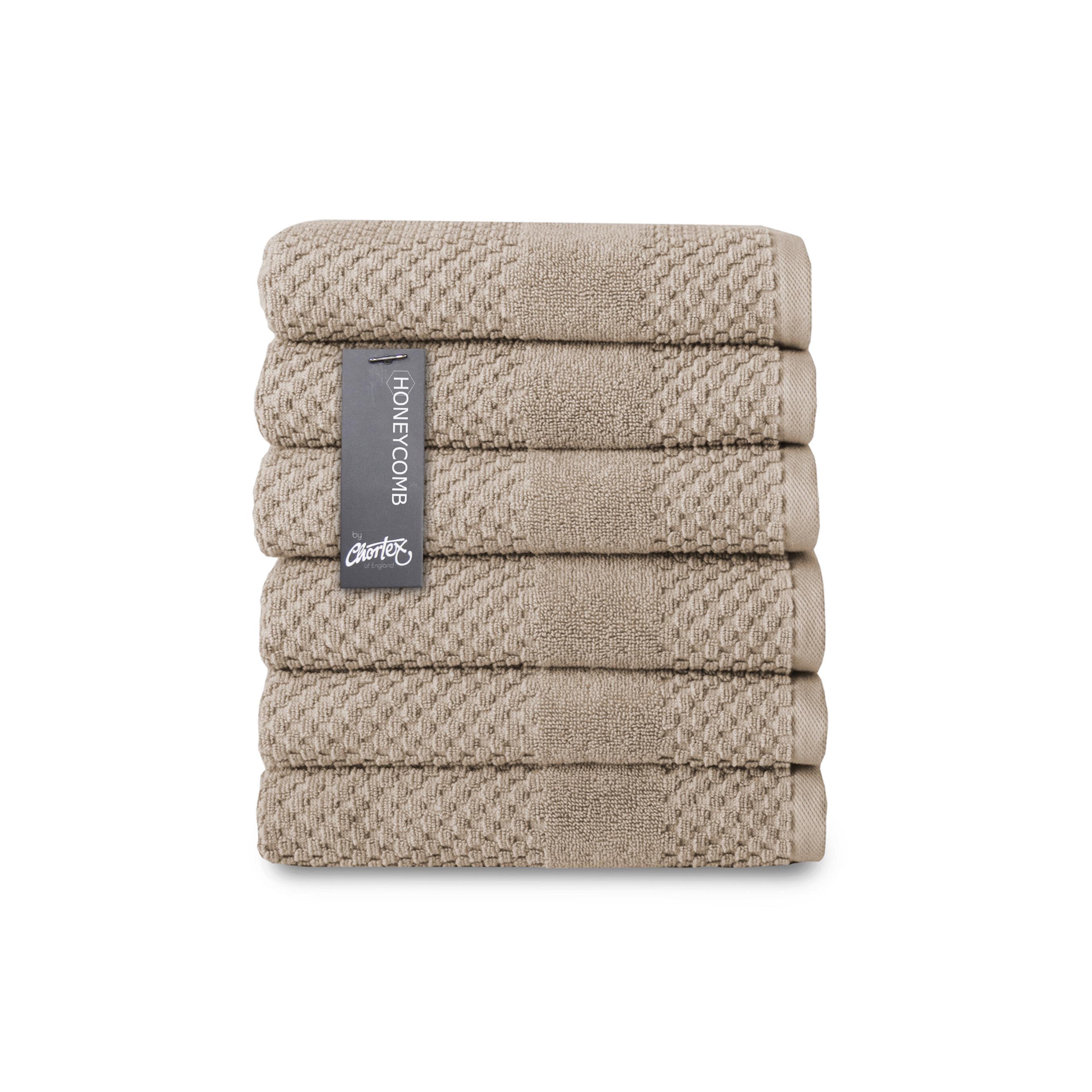 Jordeyn 6 Piece Turkish Cotton Hand Towel Set Reviews Joss Main