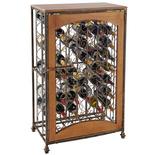 Wood Jail 48 Bottle Floor Wine Rack by Wine Enthusiast