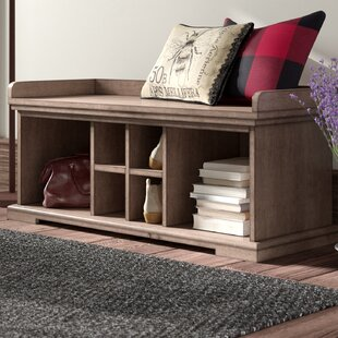 Elkland Wood Storage Bench