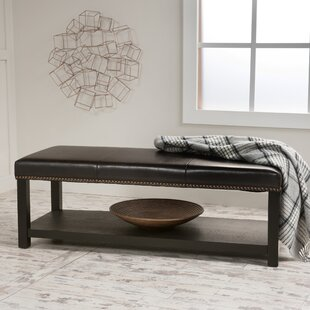 Dickens Wood Bench by Charlton Home