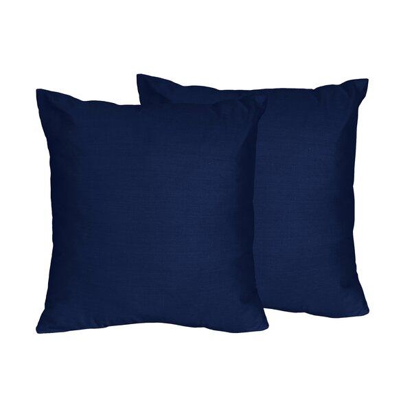 Sweet Jojo Designs Chevron Solid Navy Blue Throw Pillows   Reviews ... 7f7c2ffb9801